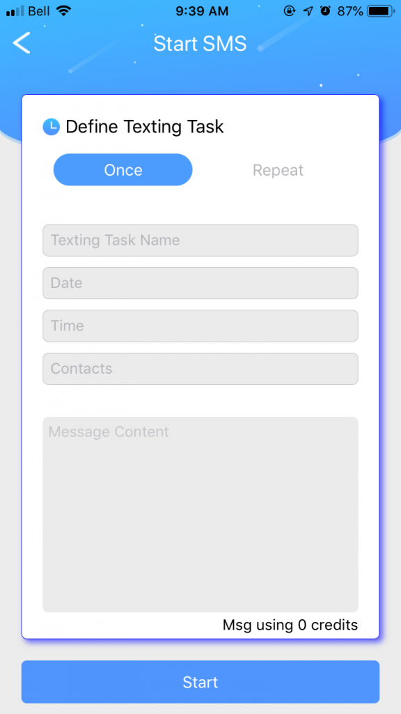 schedule a delayed text from your iPhone or Android with AutoSender