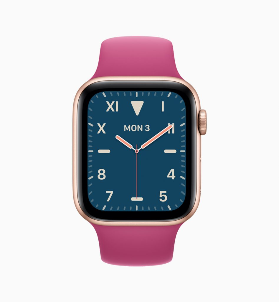 watchOS 6 new apple face
