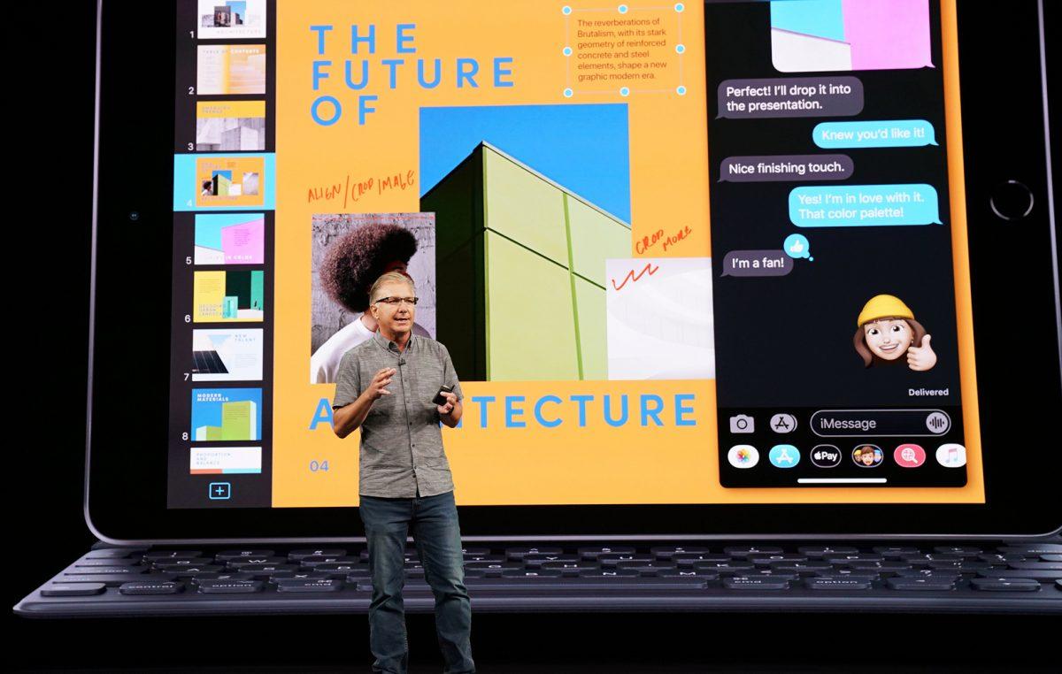 Apple iPad for apples keynote september event