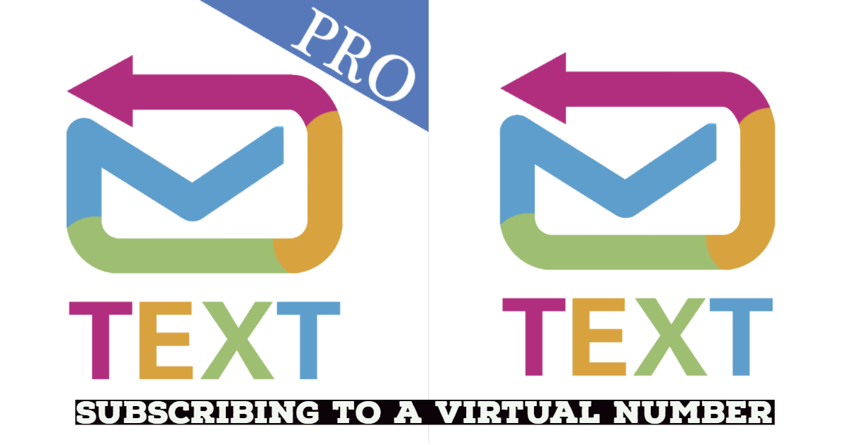 Subscribing to a virtual number