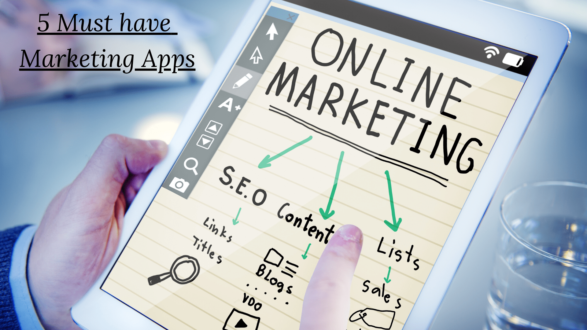 Top 5 marketing apps