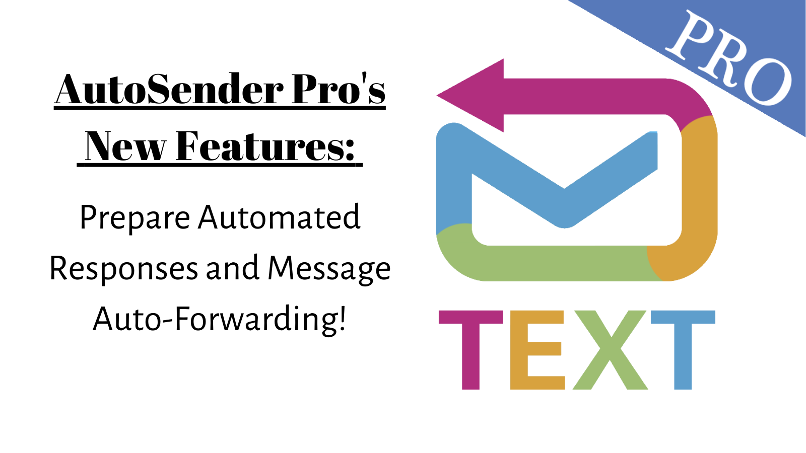 AutoSender Pro New features