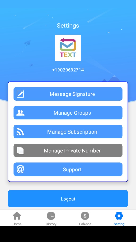 AutoSender Signatures allow you to  include information regarding who is sending the text